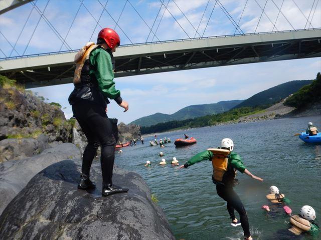 富士川ジャンプ 飛び込み