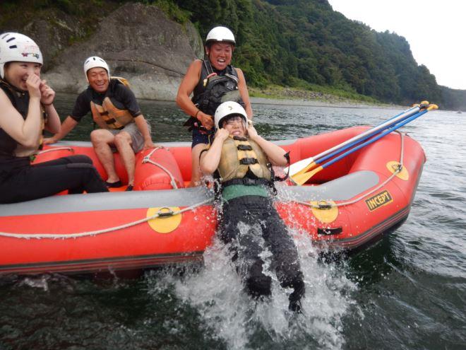 泳げる富士川 レスキュー