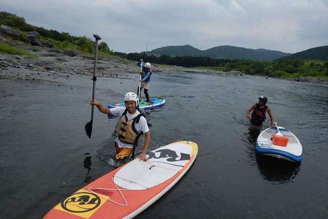 SUP ラフト 富士川