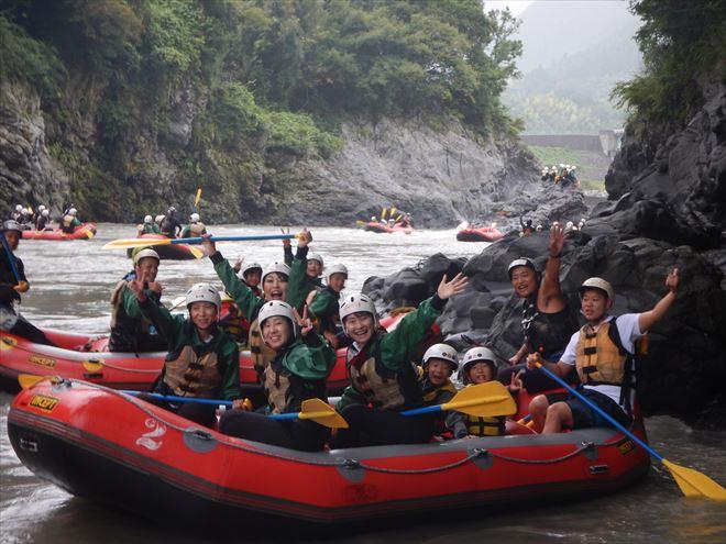 団体で遊ぶ 富士川おすすめナチュラルアクション