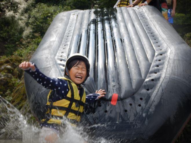 ボート滑り台 ボートを使って遊ぶ