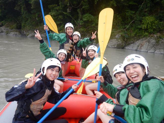 皆で楽しめる 川で遊ぶ富士川