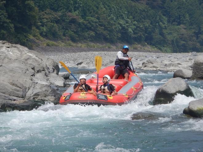 富士川で遊ぶ 夏おすすめ 夏休みおすすめ