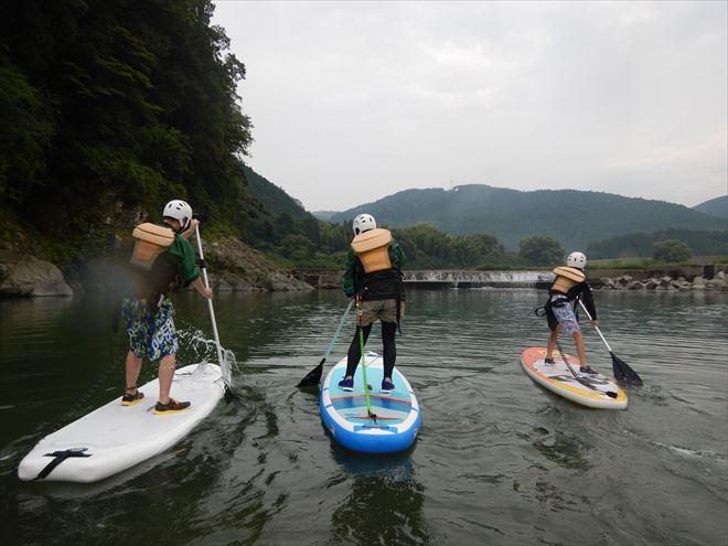 SUP 静岡 富士川