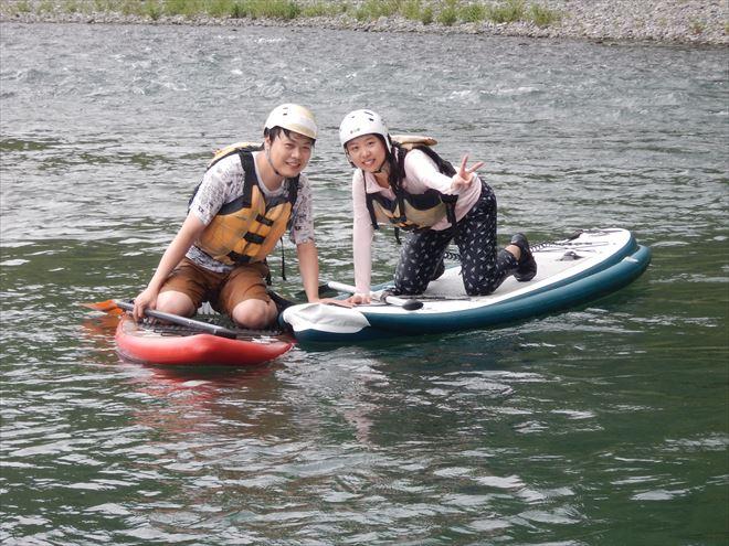 SUP  富士川おすすめ リバーSUP