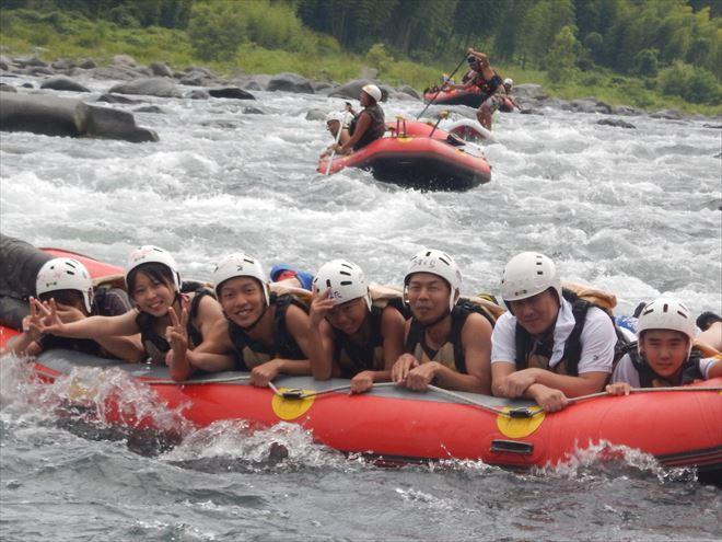 富士川自然で遊ぶ 自然とたわむれる