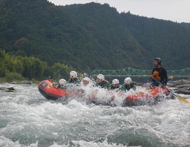 富士川激流 富士川日本三大急流