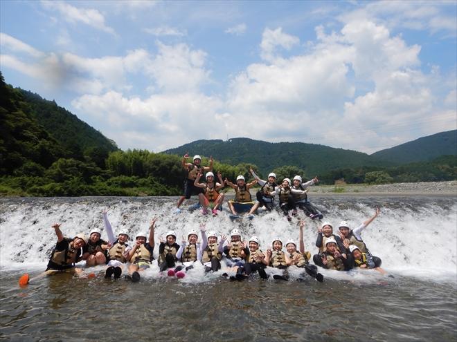 夏休み 川