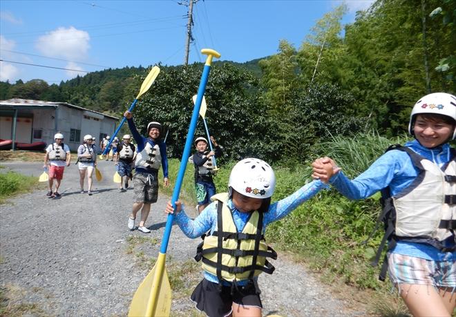 富士川ラフティングツアー
